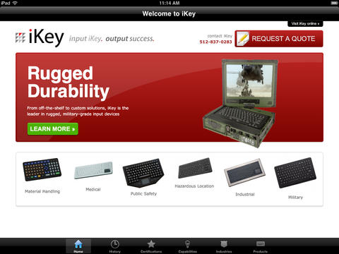 iKey Interactive Catalog input devices pictures