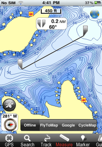 Lake of the ozarks fishing app for ipad iphone for Lake of the ozarks fishing