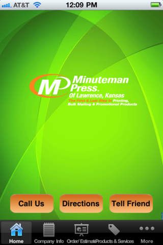 Minuteman Press Lawrence,KS vista printing business cards