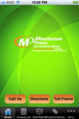 Minuteman Press Lawrence,KS printing press history