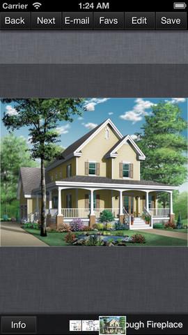 Farmhouse House Plans - Family Home Plans smartphone plans