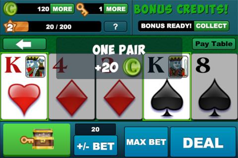 Video Poker HD - Jacks or Better!