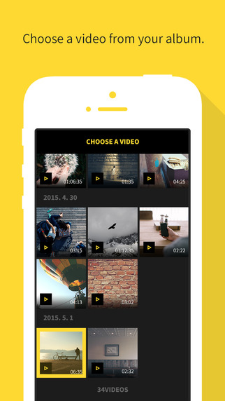 NEMO - Touch, Drag & Crop for Square Video video editing