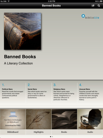 Banned Books: A Literary Collection books literary merit