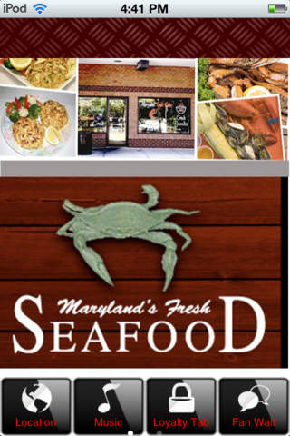 Seafood fresh seafood meat market