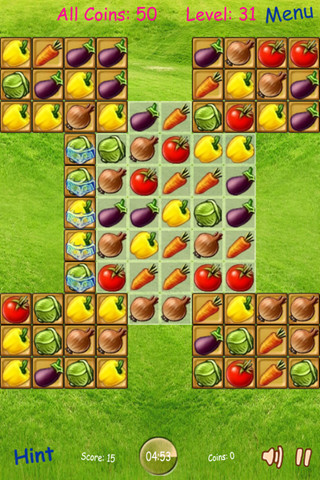 match 3 fruit games