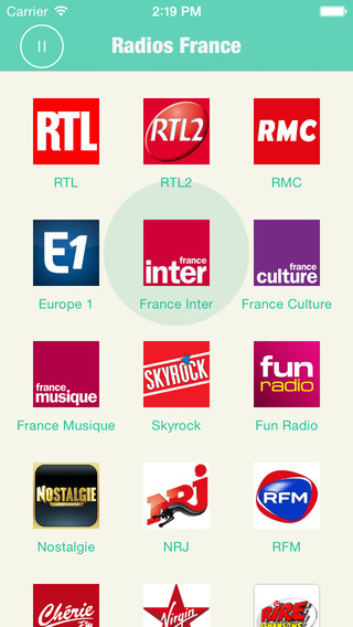 Radios France Pro: France Radios include many France Radio, Radio France massif central france
