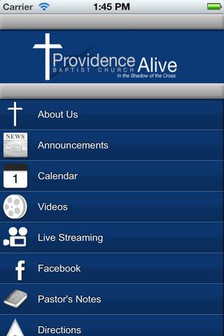 Providence Baptist Church mychart providence
