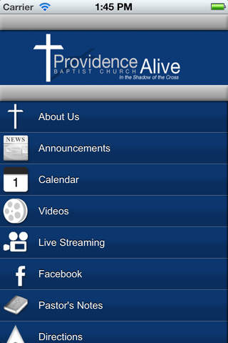 Providence Baptist Church providence