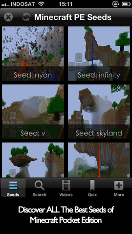 Download top seeds guide for minecraft pocket edition iphone ipad ios