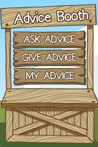 Advice Booth - Advice for morons, by morrons! salesperson advice