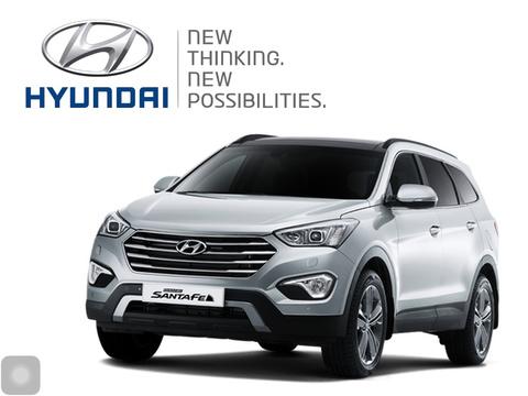 Hyundai Grand Santa Fe Showcase lease hyundai santa fe