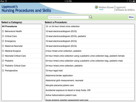 Lippincott`s Nursing Procedures and Skills