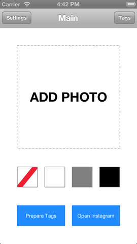 Insta square instagram background picture resize with easy auto fill