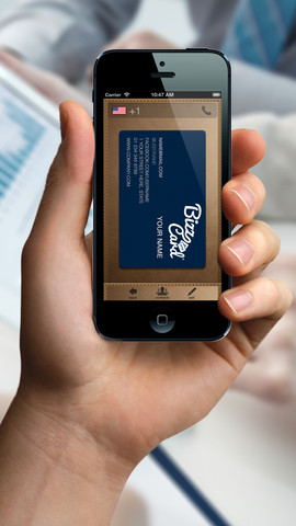 BizzCard vista printing business cards