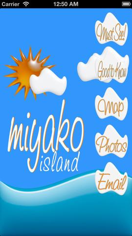 Miyakojima okinawa island map