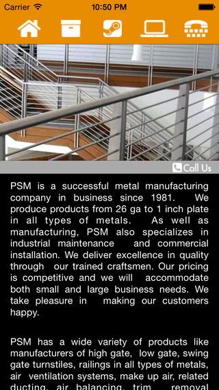 PSMMetal business industrial systems