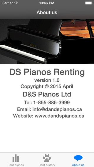 DS Pianos Renting Free kids pianos