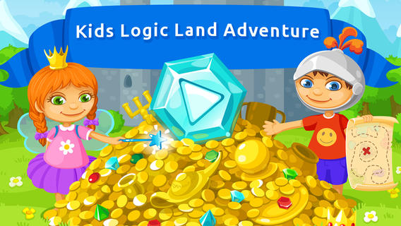 Kids Logic Land Adventure: educational games for preschool / elementary school (5-8 years old) by Hedgehog Academy elementary educational games