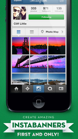 - Post banners on Instagram 1.0.0 App for iPad, iPhone - Photo ...