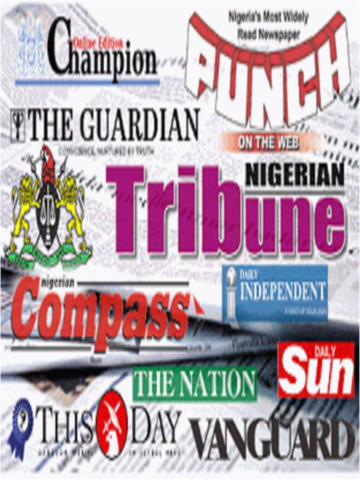 Nigeria Newspapers (Vanguard,Punch and Tribune) bangladeshi newspaper