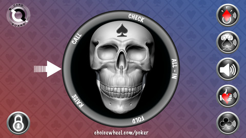 Poker Choice Wheel