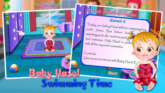 Baby Hazel Swimming Time swimming world magazine