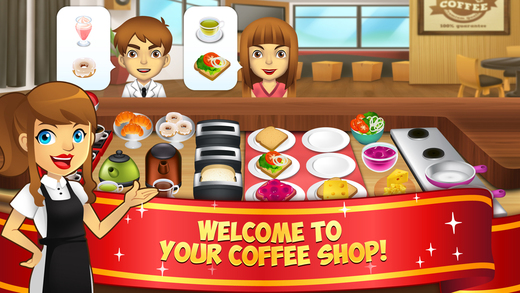My Coffee Shop - Coffeehouse Management Game coffee shop game