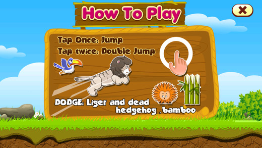 Jumping Liger FREE - Addictive Endless Running Game