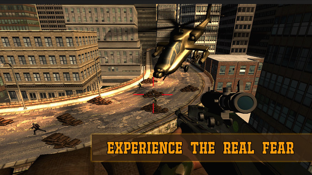 City Sniper: Military Encounter 2015, Sniper Shooting Game paintball sniper