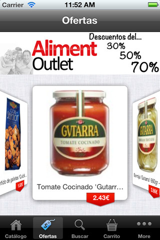 Aliment Outlet - Outlet Alimentación soft surroundings outlet