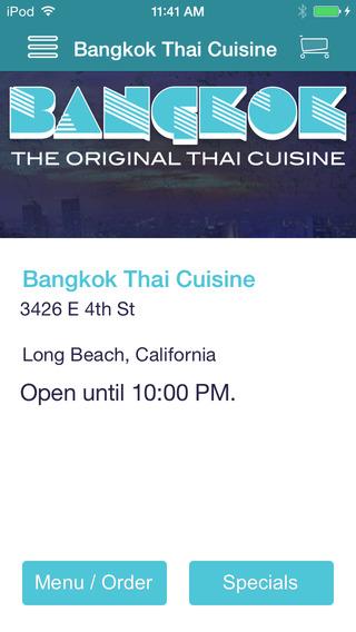 Bangkok Thai Cuisine thai cuisine