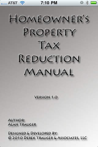 Property Tax Reduction property taxes