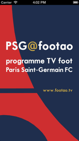 programme foot TV PSG Paris Saint-Germain Programme TV foot à la télé Foot TV Match TV FOOTAO.tv tv projectors
