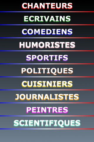 Le pendu célébrités françaises