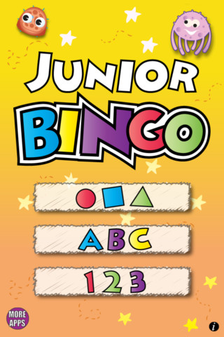 Jr Bingo App For Ipad Iphone Education