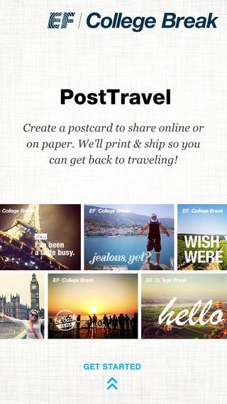 PostTravel postcard printing