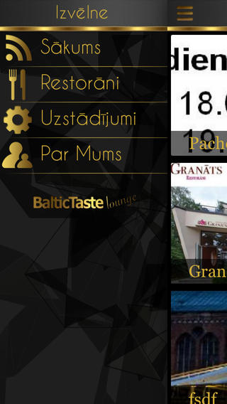 Baltic Taste - Lounge baltic states