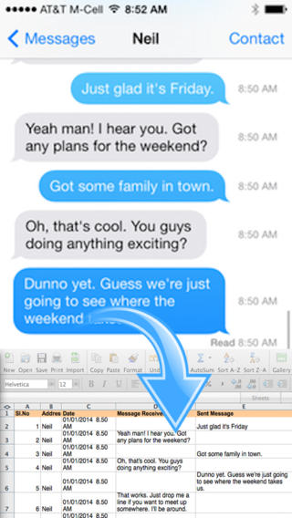 Backup SMS + iMessages