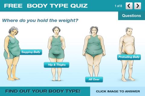 Dr. Berg`s Body Type Quiz App for iPad - iPhone - Health