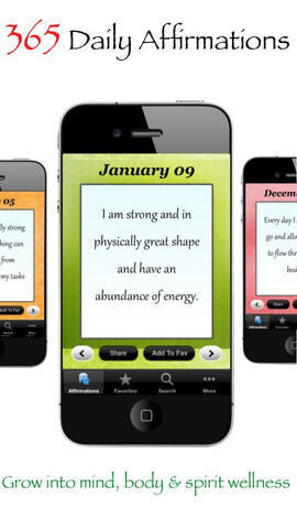 Wellness 365: Affirmations + Quotes Daily