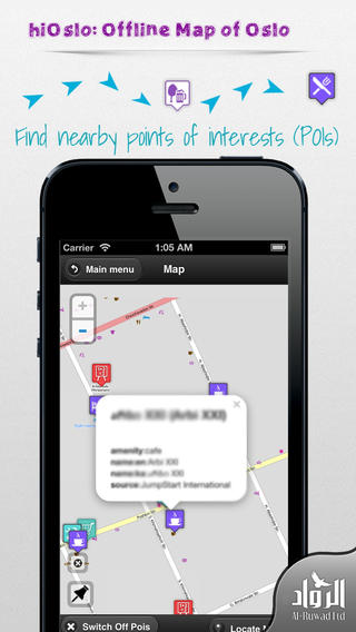 hiOslo: Offline Map of Oslo (Norway) norway map