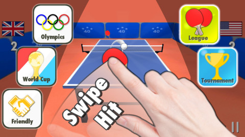 Table Tennis 3D tennis league stats