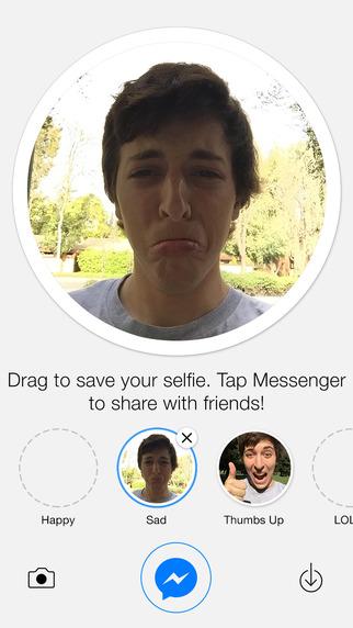 Selfied for Messenger