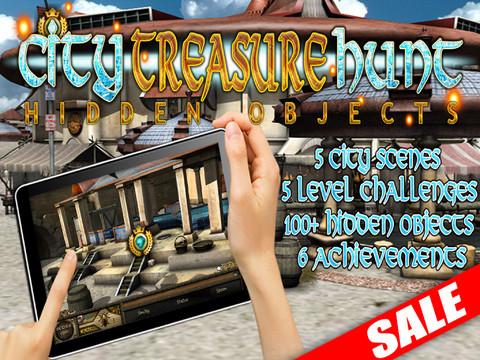 hidden city treasure hunt