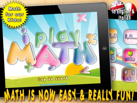 i Play Math. Math Games for Kids to Count and Learn Numbers. math games