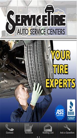 Service Tire Auto Service Center teleconferencing service