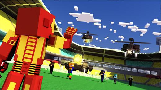 Block Iron Robot 2 - Military War ( Multiplayer & Survival Game) biologycorner