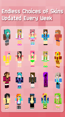 Girl Skins Minecraft Edition 1.0
