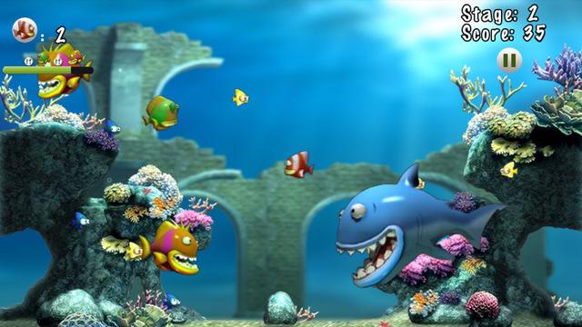 Hunger Tiny Fish: Fish eat fish fish aquaria